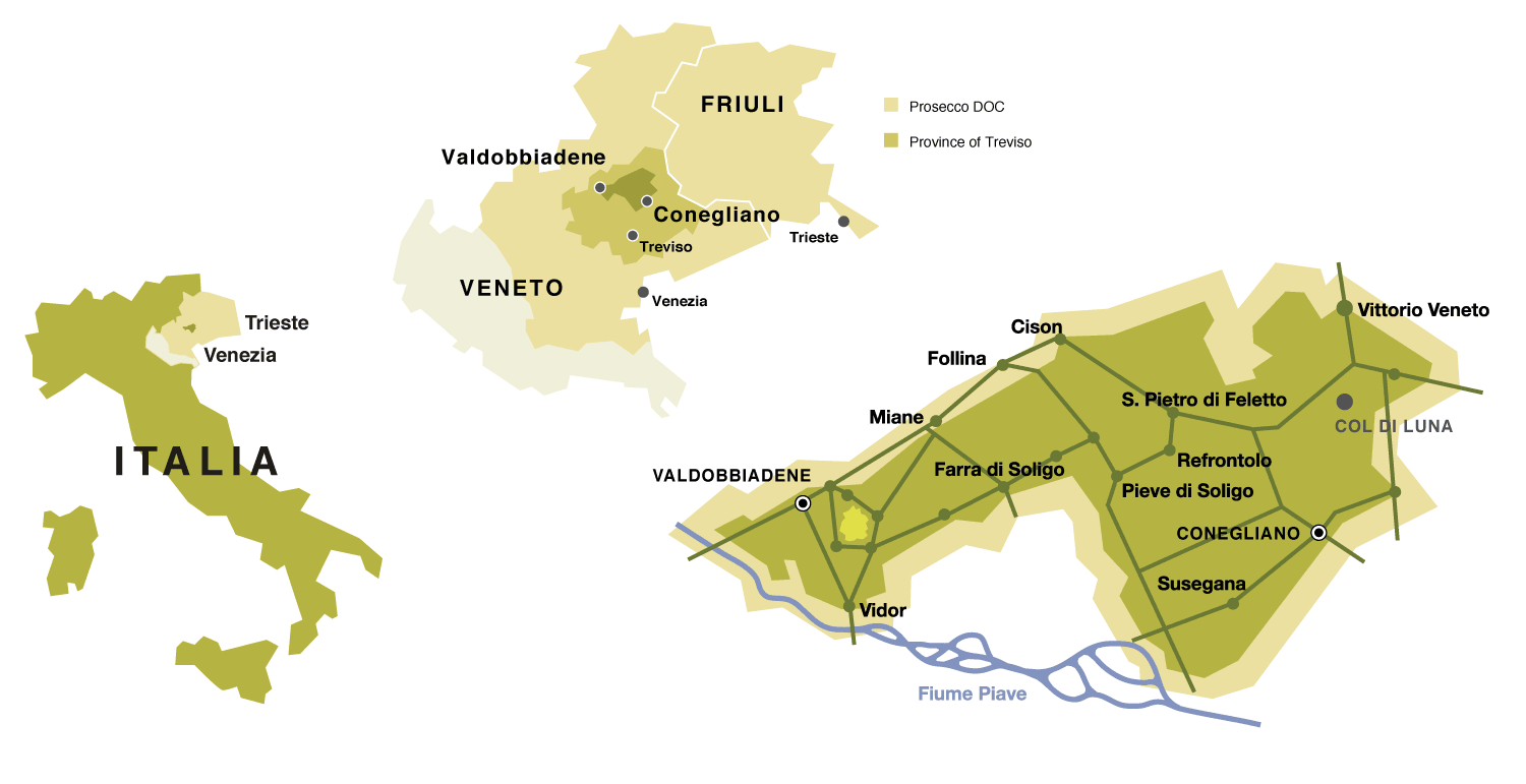 Prosecco DOC Production Area